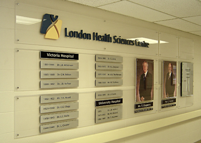 Donor Recognition Boards